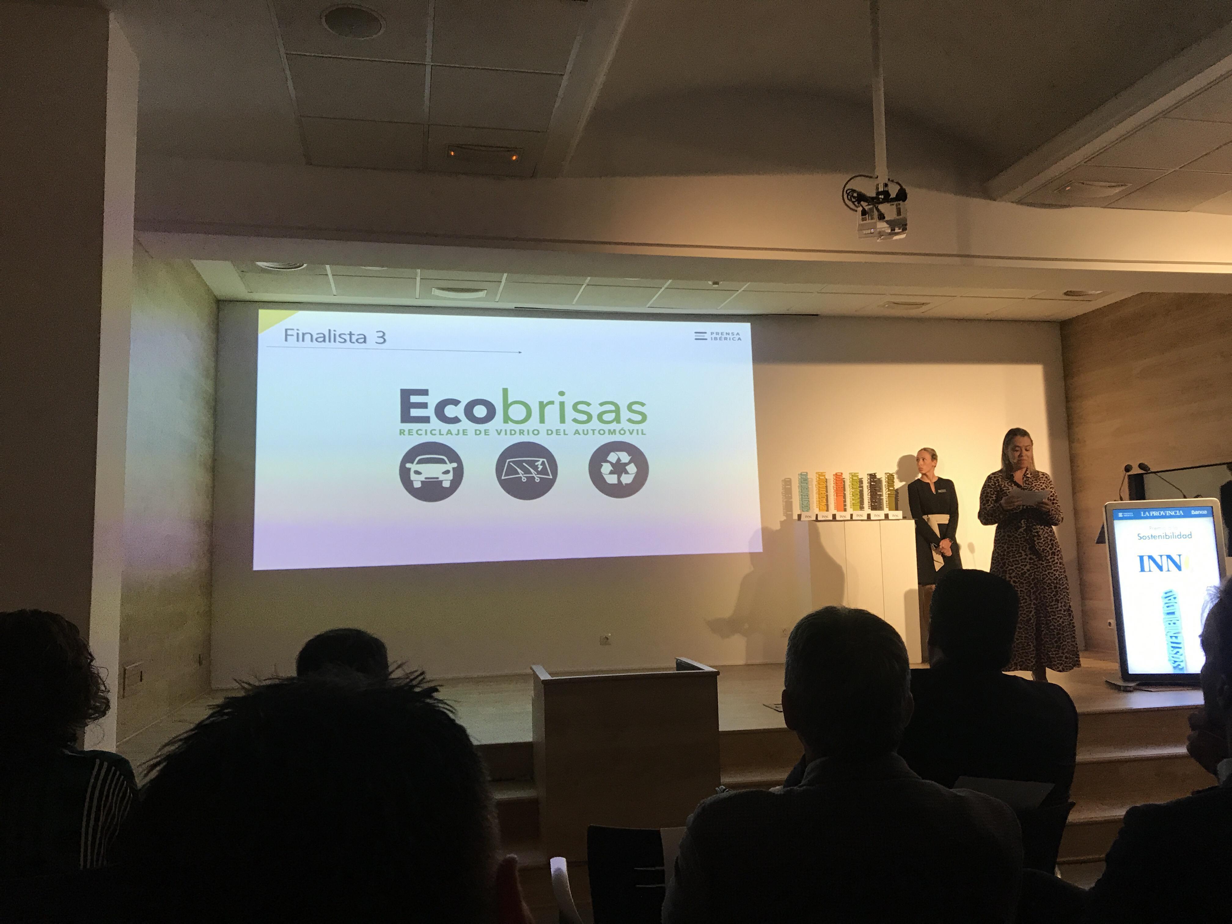 Ecobrisas finalista en los premios a la innovación Innobankia