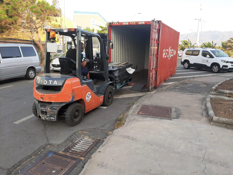 reciclaje de vidrios de automovil en Canarias